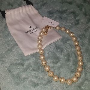 Kate Spade Cream Multi Studded Pearls